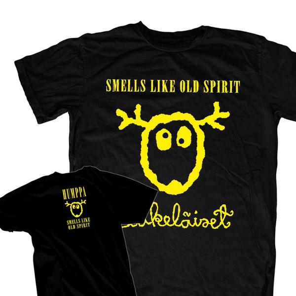Eläkeläiset - Smells like old spirit T-shirt Size M
