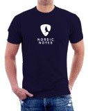 Nordic Notes T-Shirt Men Colour Navy Size M
