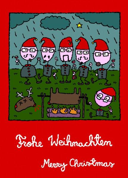 Eläkeläiset - Weihnachtspostkarte Motiv NN