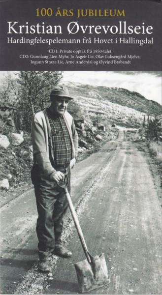 Kristian Øvrevollseie – Hardingfelespelemann Frå Hovet I Halingdal 2CD