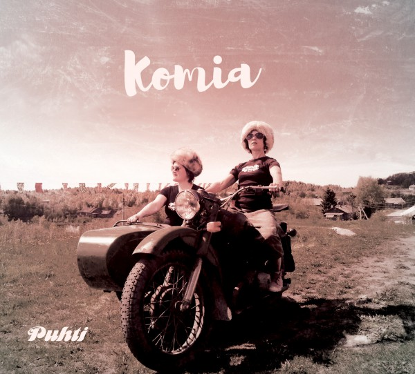 Puhti - Komia CD