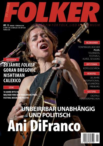Folker - 01/2018 Magazin für Folk, Lied und Weltmusik