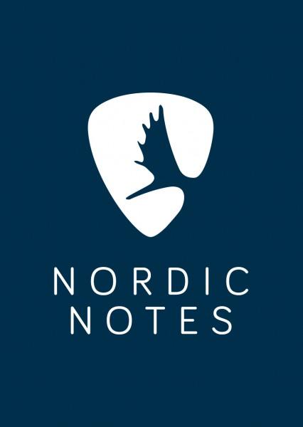 Nordic Notes Outdoor Logo Aufkleber Navi 5 Stück