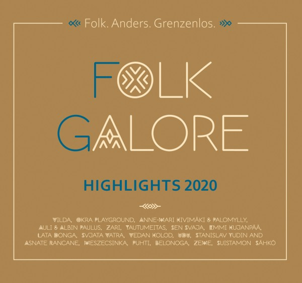 VA - Folk Galore Highlights 2020 CD