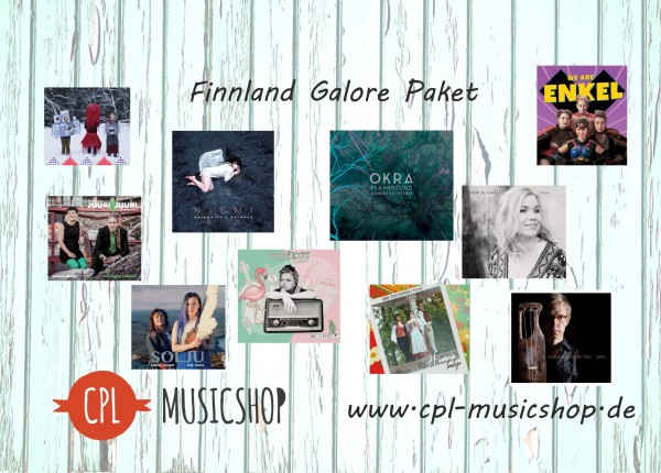 Finnland Galore 10 CD Paket
