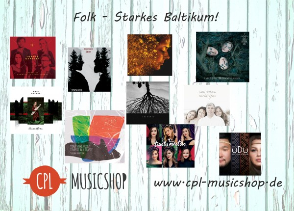 Folk - Starkes Baltikum CD Paket (10 CDs)