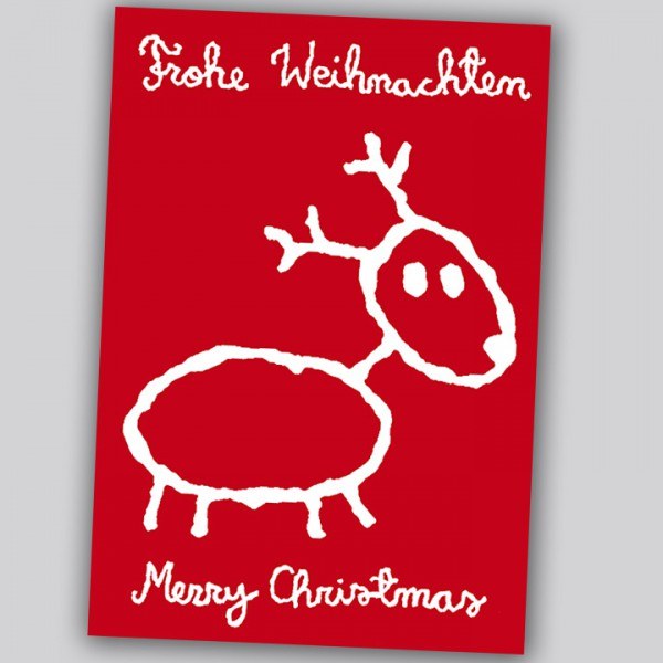 Eläkeläiset - Frohe Weihnachten Postkarte