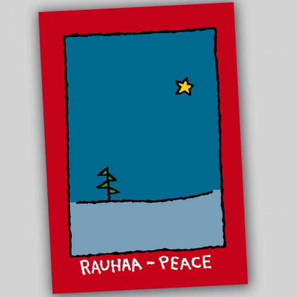 Eläkeläiset - Peace Postkarte