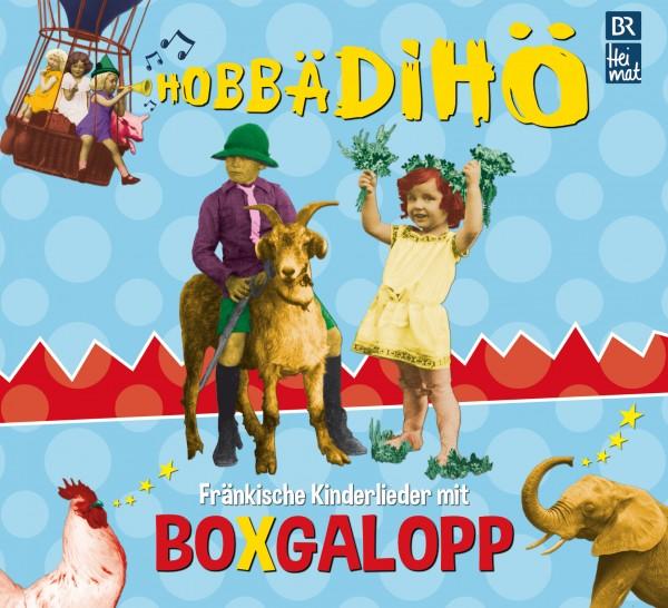 Boxgalopp - Hobbädihö CD