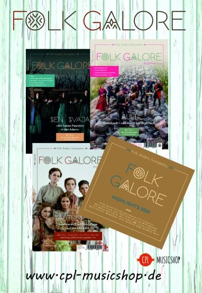 Folk Galore Paket - 3 Hefte und 1 CD