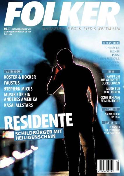 Folker - 05/2017 Magazin für Folk, Lied und Weltmusik