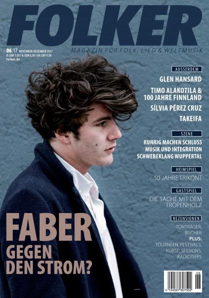 Folker - 06/2017 Magazin für Folk, Lied und Weltmusik