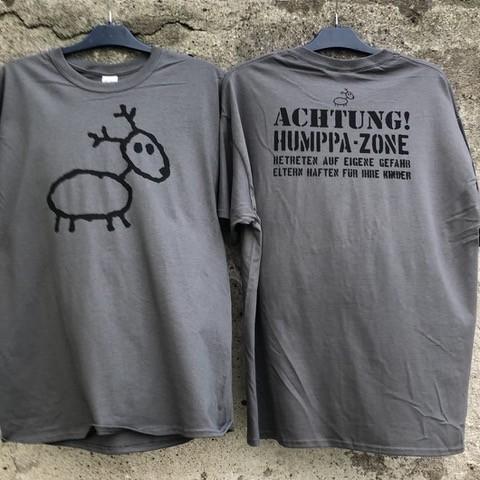 Eläkeläiset - Achtung T-Shirt Grau Size M