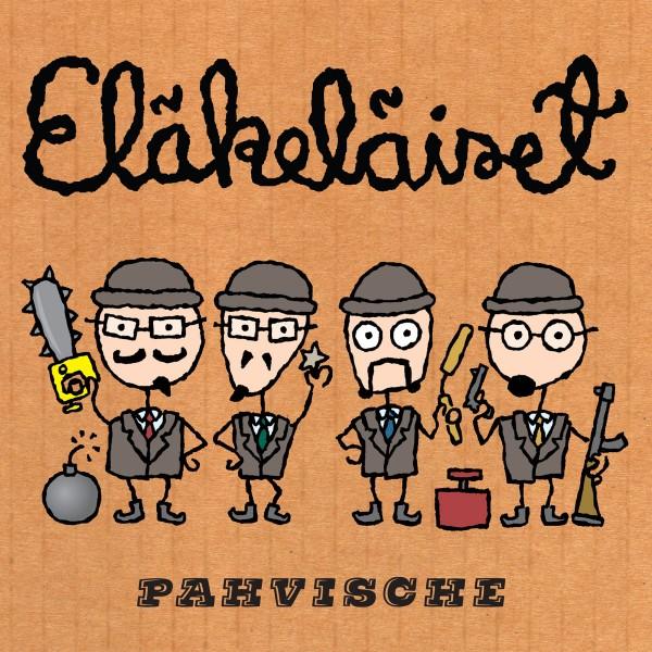 Eläkeläiset - Pahvische CD