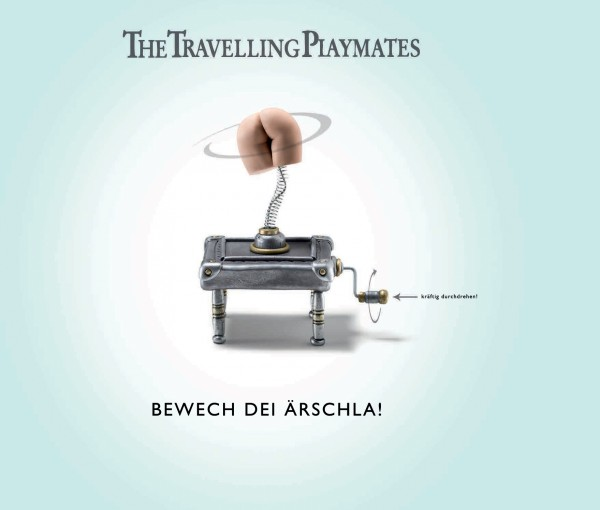 The Travelling Playmates - Bewech dei Ärschla CD