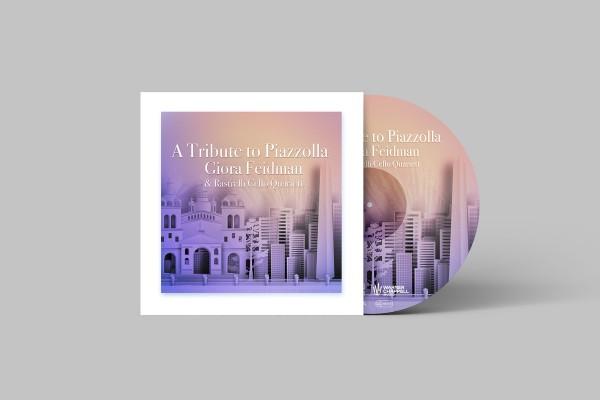 Giora Feidman & Rastrelli Cello Quartett - A Tribute to Piazzolla CD