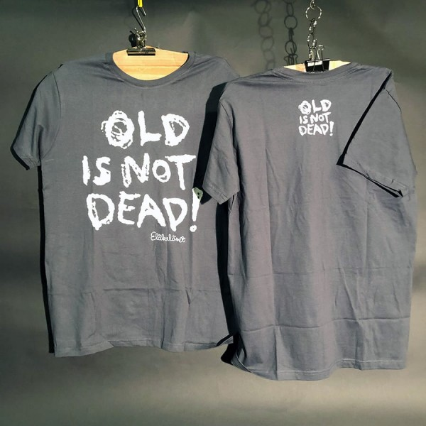 Eläkeläiset - Old is not Dead T-Shirt Grey Size M