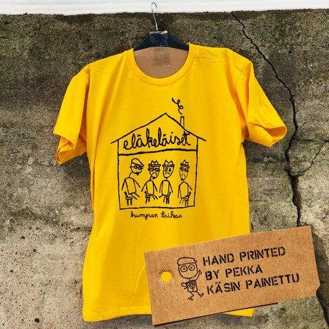 Eläkeläiset - humpan taikaa T-Shirt Size XL