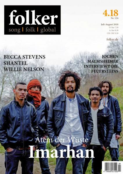 Folker - 04/2018 Magazin für Folk, Song und Globaler Musik