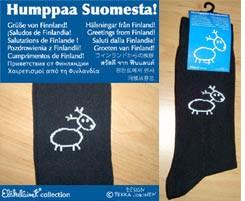 Eläkeläiset - Poro Dancing Socks Size 43-46